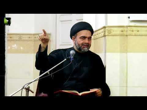 [12] Topic: سفر معرفت  | Moulana Muhammad Ali Naqvi - Safar 1439/2017 - Urdu
