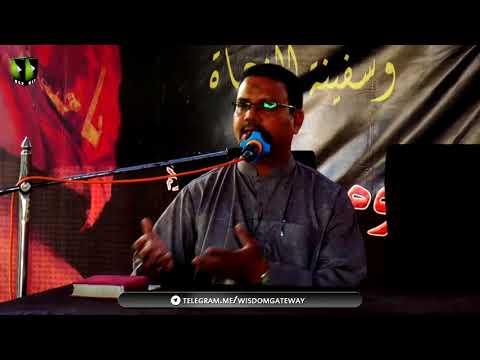 [Youm-e-Hussain as] Speech: Prof. Zahid Ali Zahidi | Mehdia Hostel Karachi - Urdu