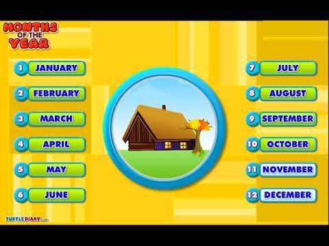 [Educational Videos] Months of the year Class-KG English