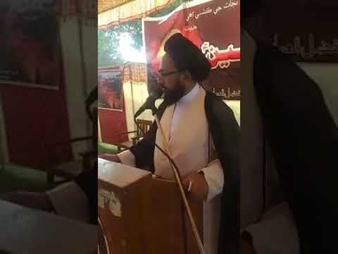 [Hussain Day at University of Sindh Jamshoro] Speech by Molana Sadiq Raza Taqvi-Urdu