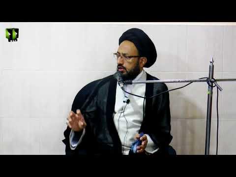 [3] Topic: ثمرات عزاداری | H.I Sadiq Raza Taqvi - Safar 1439/2017 - Urdu