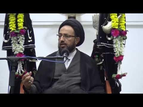 [Majlis] Topic: Tarbiyate Aulaad - تربیت اولاد   H.I Sadiq Raza Taqvi   Muharram 1439/2017 - Urdu