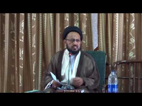 [Lecture] Topic: Imam Sajjad a.s Tableegh    H.I Sadiq Raza Taqvi   Muharram 1439/2017 - Urdu