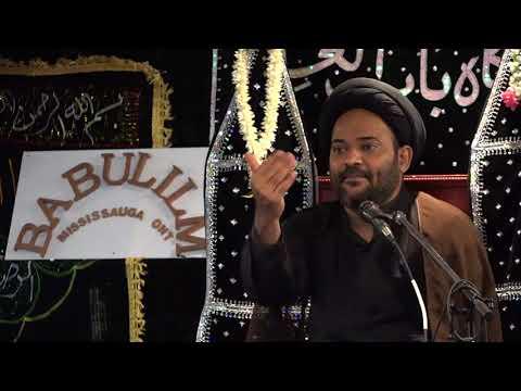 [2]12th of Safar 2017| Maulana Hussain Shirazi Bab ul Ilm Mississauga - Urdu