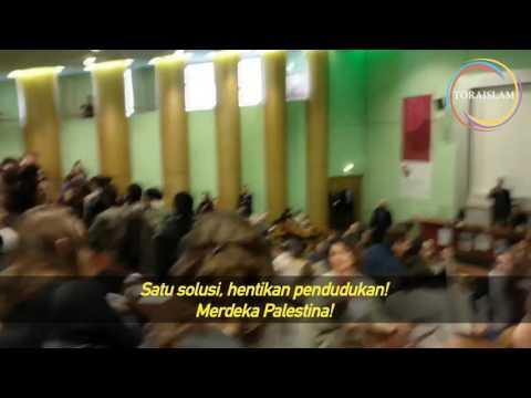 [Clip] Ruang Kuliah Universitas Rennes, Perancis, saat Dubes Israel Diminta Bicara - Malay