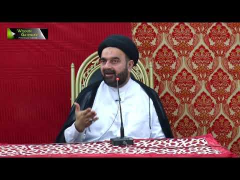 [جشن صادقین | Jashne Sadiqain] Speech: Moulana Muhammad Ali Naqvi | Rabi Ul Awal 1439/2017 - Urdu