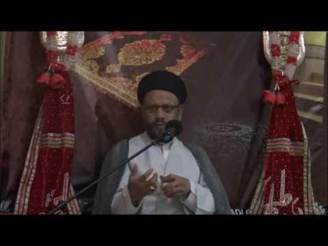 3rd Lecture 16 Ramzan-ul-Mubarak 1437/2015 Topic: Amaniyat(Peace) By H.I Moulana Syed Mohammad Zaki Baqri - Urdu