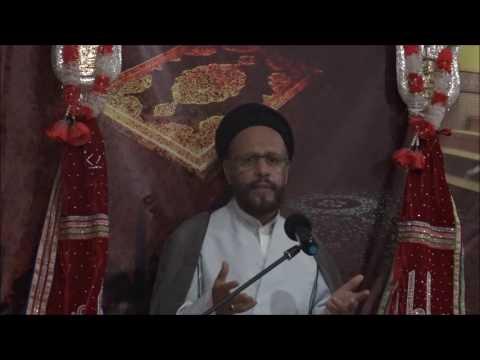 4th Lecture 17 Ramzan-ul-Mubarak 1437/2015 Topic: Amaniyat(Peace) By H.I Moulana Syed Mohammad Zaki Baqri - Urdu