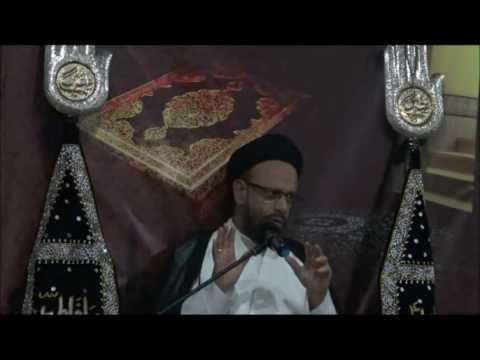 7th Lecture 20 Ramzan-ul-Mubarak 1437/2015 Topic: Amaniyat(Peace) By H.I Moulana Syed Mohammad Zaki Baqri - Urdu