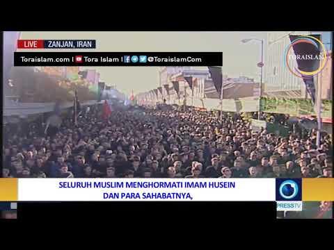 [Clip] Jutaan Umat Syiah bersiap untuk Meratapi kesyahidan Imam Husein - Farsi sub Malay