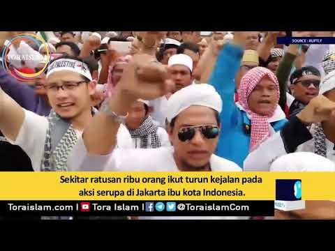 [Clip] Kecaman Global atas Keputusan Trump Terus Berlanjut - Farsi sub Malay
