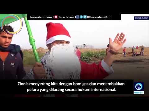 """[Clip] Santa Palestina Terluka pada """" Hari Jumat Kemarahan """" - Arabic sub Malay"""