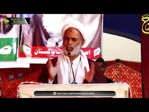 [Youm-e-Sadiqain] Moulana Raza Mohammad Saeedi   Mahdaviyat Muhafiz-e-Islam Convention 2017-ASO Pak - Sindhi
