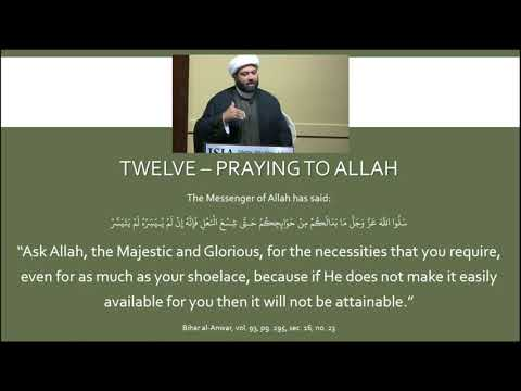 Knowing the Imam of Our Time: Session 13 - English