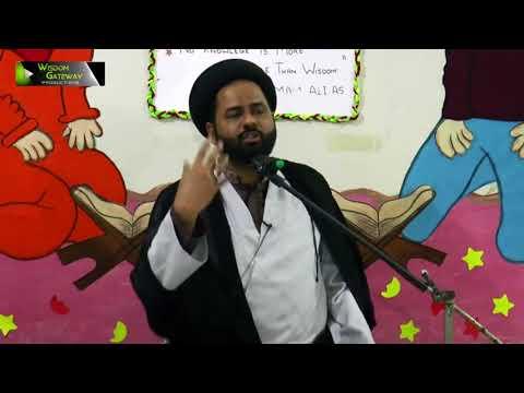 [Majlis] Khitaab: Moulana Ali Afzaal Rizvi | Ayaam-e-Fatimiya (sa) 1439/2018 - Urdu