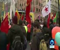 [18 February 2018] Kurds protest Turkey's Afrin assault in Rome - English