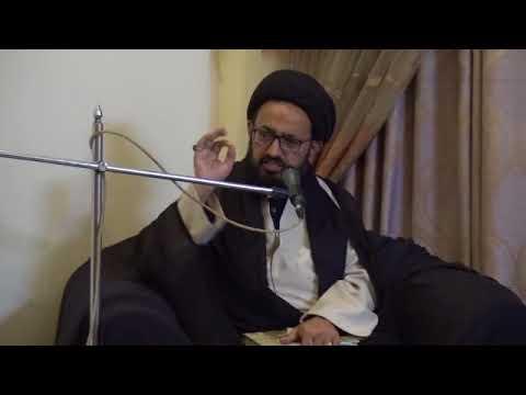 [Majlis] Topic: سیرت و مقامِ حضرت زہرا   H.I Sadiq Raza Taqvi - Urdu
