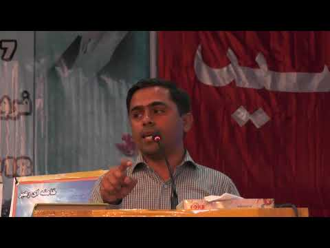 [47th Convention of Asgharia]Education is Light By Dr Saeed Ahmed Khan Abro-Urdu