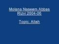 Molana Naseem Abbas Rizvi Imam Hussain 2004 06