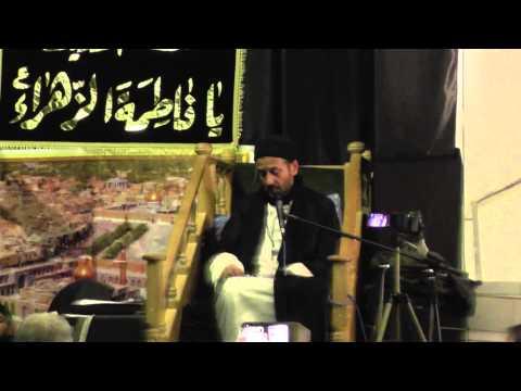 8th Moharram 1436 Hijri 2014 AHLEBAIT Key Ajj Key Zimaney Key Mojzat By Allama Syed Jan Ali Kazmi Part 1-Urdu