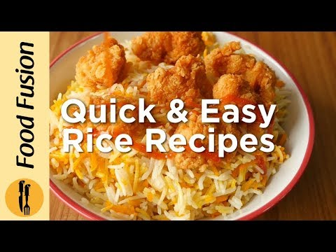 Quick & Easy Rice Recipes - English Urdu