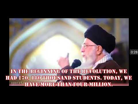 Education Before & After Islamic Revolution-World Statistic. Eng subtitle