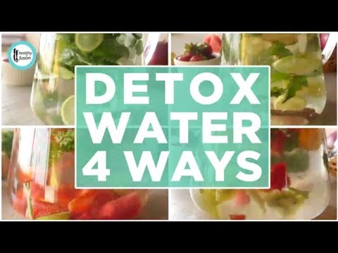 Detox Water 4 ways (For weight loss and healthy glowing skin) - English Urdu