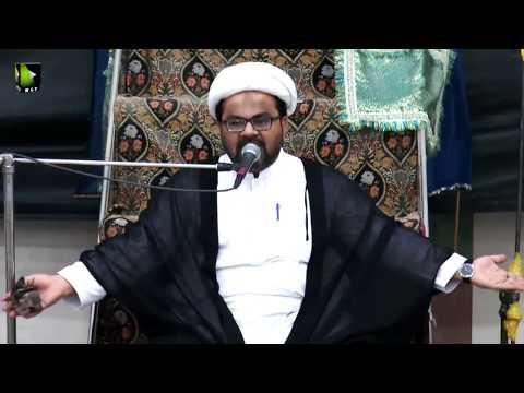 1/4-Majlis-e-Aza Basilsile Shahadat Imam Musa Kazim (a.s) | Khitab : Maulana Muhammad Raza Dawoodani - Urdu