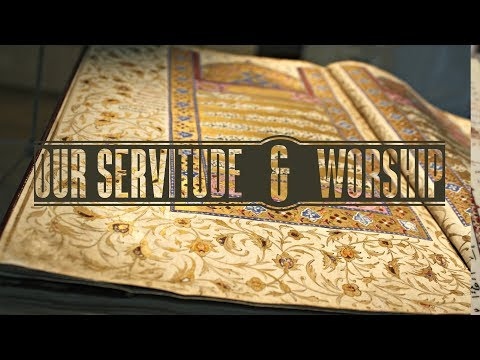 Worship and servitude belongs to God alone! - English