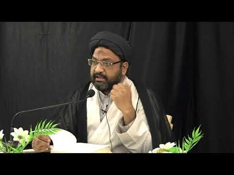 Dars-e-Nahj ul-Balagha | Sermon No: 35 | Moulana Taqi Agha - Urdu