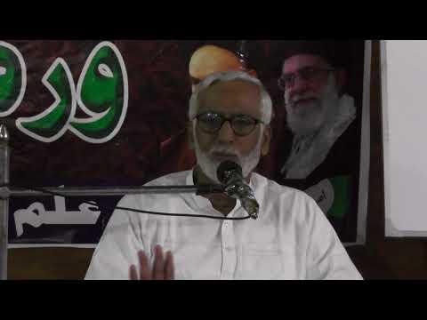 [Karballa Shunasi Workshop Aril 2018] Why Karballa happened? By Syed Hussain Moosavi-Sindhi
