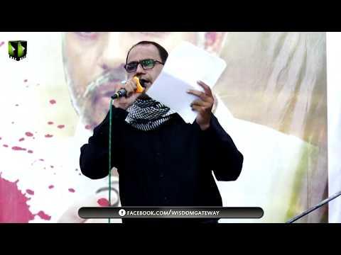 [ 2nd Majlis-e-Barsi ] Shaheed Khurram Zaki   Tarana : Br. Ali Deep Rizvi   6th May 2018 - Urdu