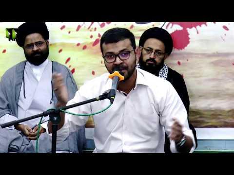 [ 2nd Majlis-e-Barsi ] Shaheed Khurram Zaki   Tarana : Br. Aatir Haider   6th May 2018 - Urdu