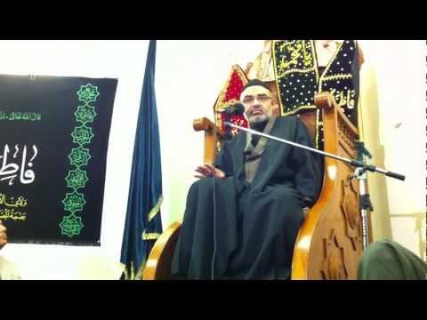 Majlis 2nd Moharram 1433 Hijari 2011 By Allama Syed Ali Murtaza Zaidi at Claphum London - Urdu