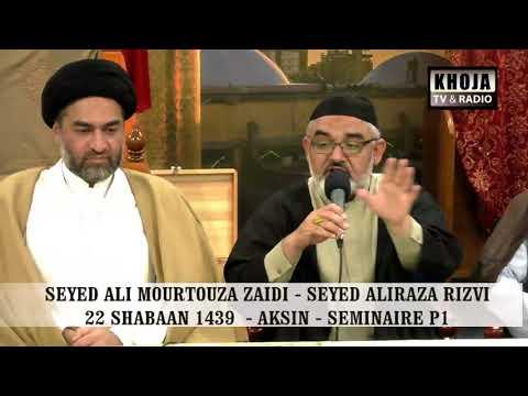 [Seminar Part 1] Agha Syed Ali Murtaza Zaidi And Syed Ali Raza Rizvi Madgascar 2018 Urdu
