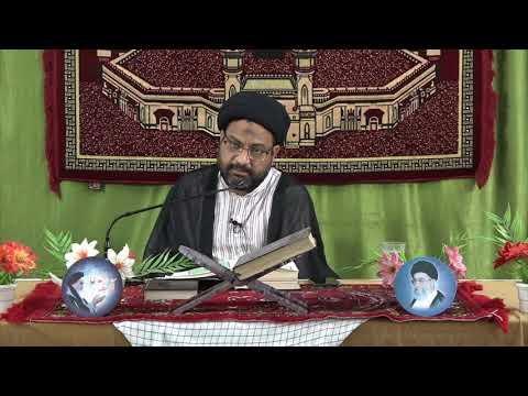 [06] Tafseer-e-Surah-e-Aal-e-Imran | 6th Mahe Ramadhan 1439 A.H | Moulana Syed Taqi Raza Abedi - Urdu