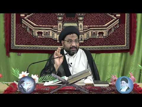 [07] Tafseer-e-Surah-e-Aal-e-Imran | 7th Mahe Ramadhan 1439 A.H | Moulana Syed Taqi Raza Abedi - Urdu