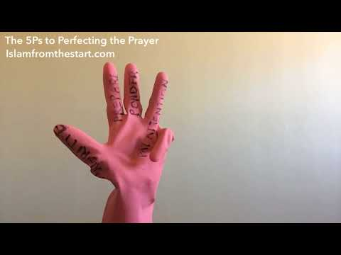 The 5Ps to Perfecting the Prayer - English