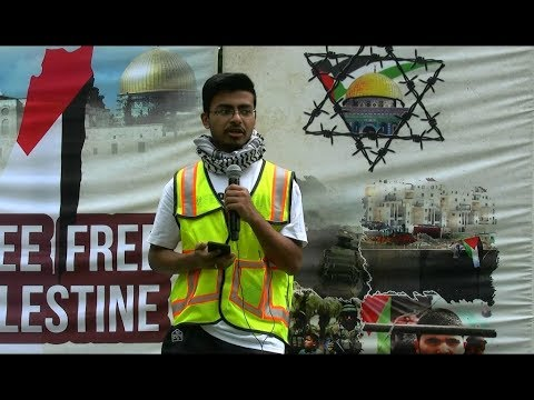 [AlQuds Day 2018 Toronto] Spoken Words by Br  Jawad -English