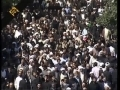 Ayatullah Mohahmmad Taqi Bahjat Funeral Procession - Full Video - 1 of 2 - Farsi Commentary