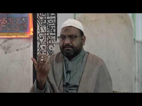 [Etekaaf Mahe Ramadhan 1439] [02] Ishq-e-Elahi | Moulana Syed Taqi Raza Abedi - Urdu