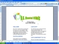 MS word 2003 tutorial - Scroll through document - English