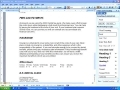 MS word 2003 tutorial - Create Personalized Style - English