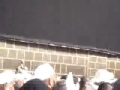 Video of broken wall of Kaaba - Entrance for the mother of Imam Ali (a.s) - All Languages