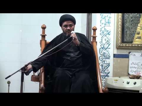 [Majlis 3] Shahadat Imam Ali (as)   Moulana Syed Hussain Haider Rizvi   Mah-e-Ramzaan 1439 - Urdu