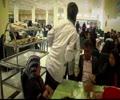 روضۃ منورہ امام علی رضا ع کے دستر خوان کا خوبصورت منظر - Urdu
