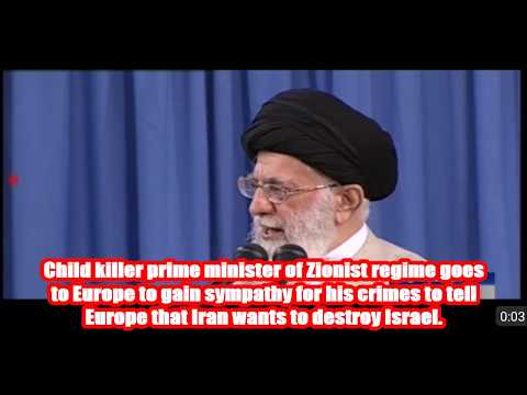 EU slave of Zionist Israel. - Farsi sub English