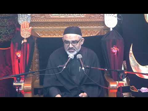 [4Majlis Muharram 1440/11.09.2018] Topic:Karbala sy Zahoor tak Nusrat e Imam Ky Marahil | H.I Ali Murtaza Zaidi - Urdu