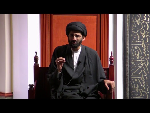 [7] Topic: Connect with the Mission/Revolution of Imam Hussain(A) | H.I. Sulayman Abidi | English