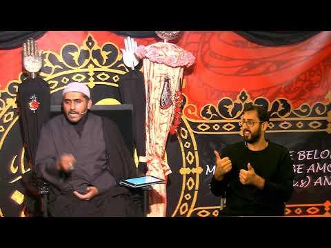 [Eve 9th Muharram 1440] Topic: Faith And Community In A Changing World   Sheikh Murtaza Bachoo 18/09/2018 UK English